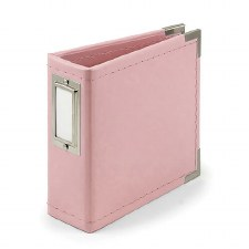 We R Memory Keepers 4x4 Album- Light Pink