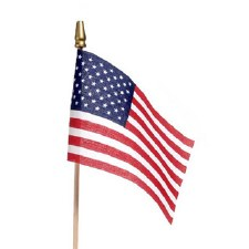 "American Flag, 4""x6"""