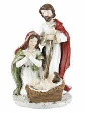 """5.25"""" Resin Holy Family"""
