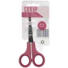 """Cut Up Fine Tip Craft Scissors, 5.5"""""""