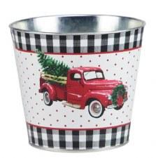 "5"" x 4.5"" Truck Pot - Tin"