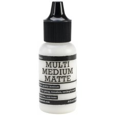 Multi Medium Matte, .5oz