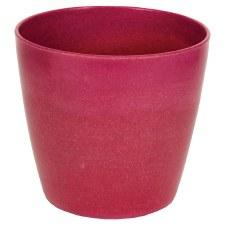 "5"" Vase- Cranberry"