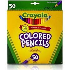Crayola Colored Pencils, 50ct