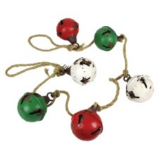 Rustic Jingle Bell Garland, 54""
