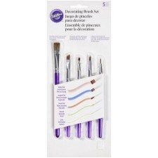 Decorative Brush Set, 5pc