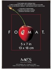"""Black Format Frame- 5""""x7"""""""