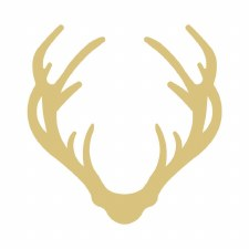 """Antler MDF Cut Out- 6"""""""