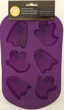 Halloween Baking- Silicone Ghost Tray