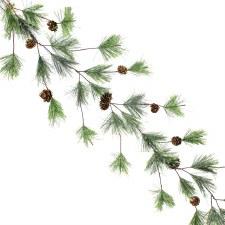 6' Smokey Pine Garland