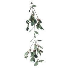 Eucalyptus Seed Garland, 6'- Green/Gray