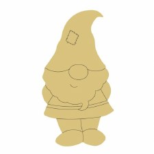 Gnome #1 MDF Cut Out