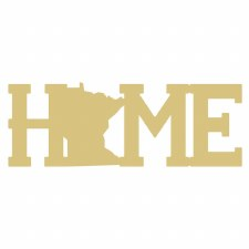 "Minnesota Home MDF Cut Out- 6"""
