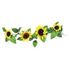 6' Sunflower Garland