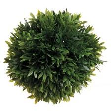 "Tea Leaf Deco Ball, 6"""