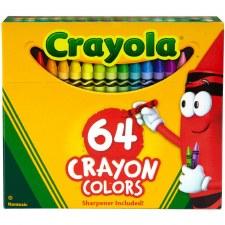 Crayola Crayons- 64ct