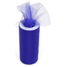 "6"" Tulle Roll, 25 yards- Royal Blue"