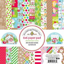 Christmas Town 6x6 Paper Pad