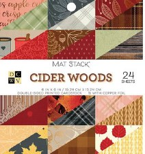 6x6 DCWV Mat Stack- Cider Woods