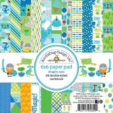 Dragon Tails 6x6 Paper Pad