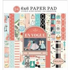 En Vogue 6x6 Paper Pad