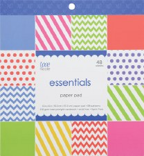 Love, Nicole 6x6 Paper Pad- Essentials