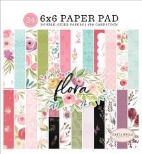 6X6  Flora No.3 Paper Pad