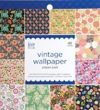 Love, Nicole 6x6 Paper Pad- Vintage Wallpaper