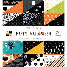 6x6 DCWV Mat Stack- Happy Halloween