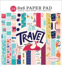 Let's Travel 6x6 Paper Pad