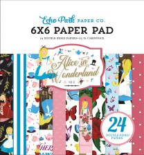 Alice in Wonderland 2 6x6 Paper Pad