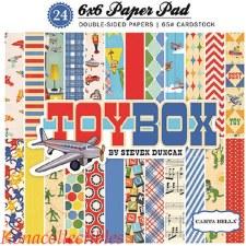 Tox Box 6x6 Paper Pad