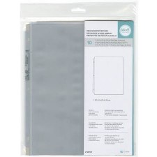 We R Memory Keepers 8.5x11 Page Protectors, 10ct