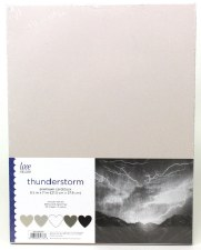"8.5x11"" Cardstock Pack, 50pc- Thunderstorm"