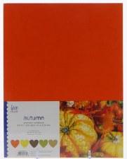 """8.5x11"""" Cardstock Pack, 50pc- Autumn"""
