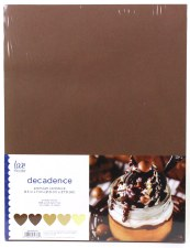 """8.5x11"""" Cardstock Pack, 50pc- Decadence"""