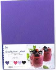 "8.5x11"" Cardstock Pack, 50pc- Raspberry Sorbet"