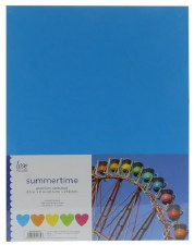 "8.5x11"" Cardstock Pack, 50pc- Summertime"