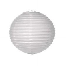 "8"" White Paper Lantern"