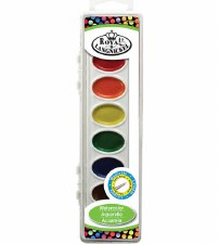 Watercolor Cake Set, 8 colors