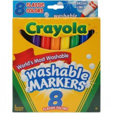 Crayola Washable Markers- 8ct