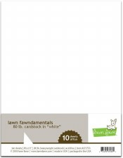 Lawn Fawn Cardstock Pack- 80lb White