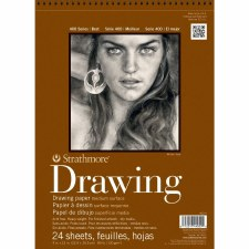 "Strathmore 400 Series 8""x10"" Drawing Pad, 24 Sheets"