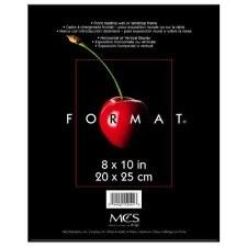 """Black Format Frame- 8""""x10"""""""