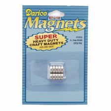 Darice Magnets- Super Heavy Duty, 3x8mm