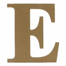 "9.5"" MDF Letter- E"