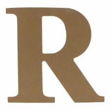 """9.5"""" MDF Letter- R"""