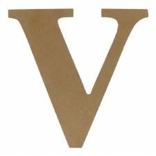 """9.5"""" MDF Letter- V"""