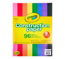 Crayola Construction Paper, 96ct