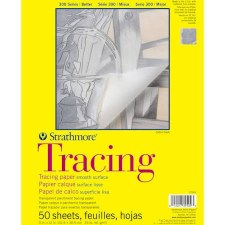 "Strathmore 300 Series 9""x12"" Tracing Paper, 50 Sheets"
